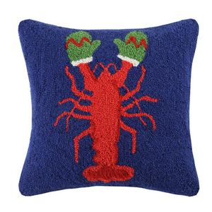 Lobster With Mittens Hook Pillow