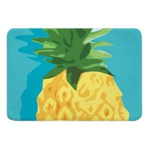 Summer Pineapple Memory Foam Bath Mat