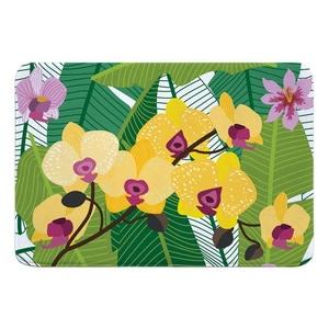 Orchid Garden Memory Foam Bath Mat