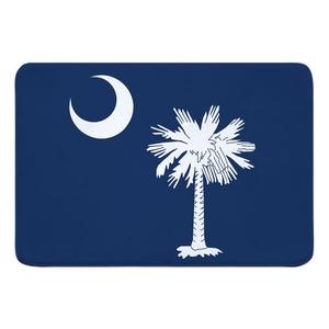 South Carolina Flag Memory Foam Bath Mat