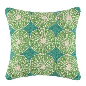 Key Lime Urchins Hook Pillow