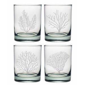 Coral Assortment Dor Glass Set