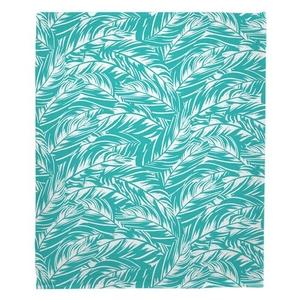 Jamaican Jungle Fleece Throw Blanket