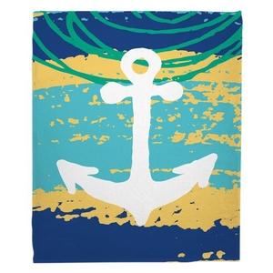 Bimini Anchor Fleece Throw Blanket