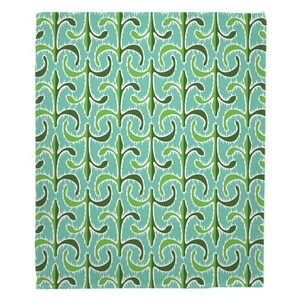 Key Largo - Regency Fleece Throw Blanket