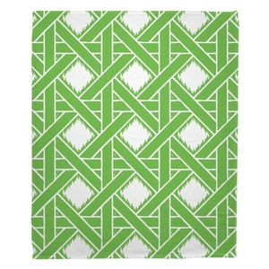 Key Largo - Passport Green Fleece Throw Blanket