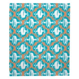 Boca Chica - Moroccan Fleece Throw Blanket