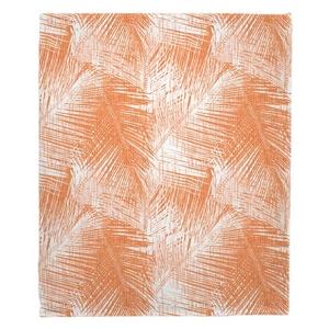Boca Chica - Palm Breeze Fleece Throw Blanket
