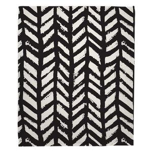 Grand Bahama - Drifter Black Fleece Throw Blanket