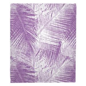 Maui - Palm Breeze Fleece Throw Blanket
