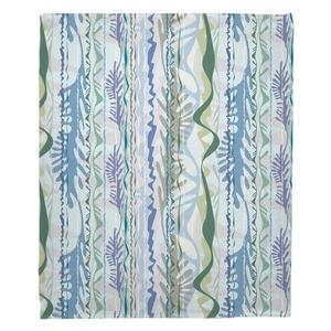 Seaweed Drift Fleece Throw Blanket