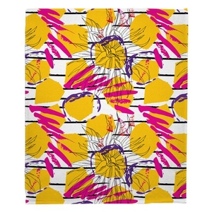 Gypsy Girl Fleece Throw Blanket