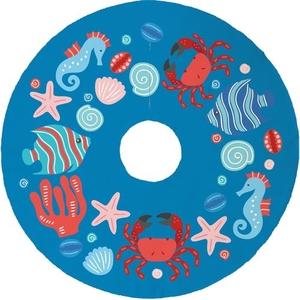 Ocean Drifters Christmas Tree Skirt - Blue