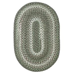 "Homespice Decor 27"" x 45"" Oval Cedar Ridge Ultra Durable Braided Rugs"