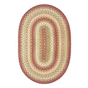 Homespice Decor 4' x 6' Oval Barcelona Ultra Durable Braided Rug