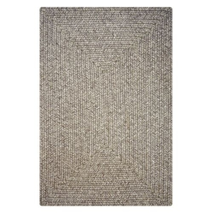 "Homespice Decor 27"" x 45"" Rect. Slate Ultra Durable Braided Rug"