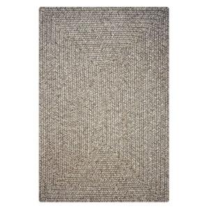 Homespice Decor 4' x 6' Rect. Slate Ultra Durable Braided Rug