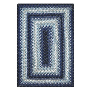 Homespice Decor 5' x 8' Rect. Juniper Ultra Durable Braided Rug
