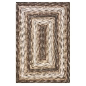 "Homespice Decor 20"" x 30"" Rect. Wildwood Ultra Durable Braided Rug"