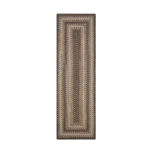 "Homespice Decor 22"" x 72"" Rect. Wildwood Ultra Durable Braided Runner"