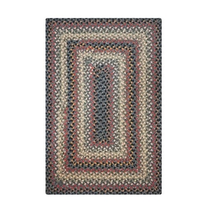 Homespice Decor 5' x 8' Rect. Enigma Cotton Braided Rug