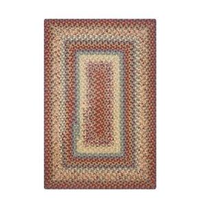 Homespice Decor 6' x 9' Rect. Neverland Cotton Braided Rug
