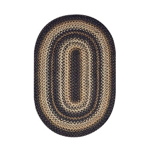 "Homespice Decor 20"" x 30"" Oval Kilimanjaro Jute Braided Rug"