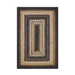 "Homespice Decor 20"" x 30"" Rect. Kilimanjaro Jute Braided Rug"