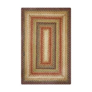 Homespice Decor 5' x 8' Rect. Gingerbread Jute Braided Rug