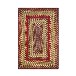 Homespice Decor 6' x 9' Rect. Cider Barn Jute Braided Rug