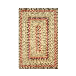 Homespice Decor 8' x 10' Rect. Kingston Jute Braided Rug