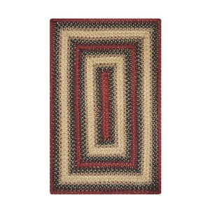 Homespice Decor 8' x 10' Rect. Highland Jute Braided Rug