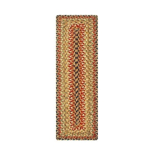 """Homespice Decor 11"""" x 36"""" Table Runner Rect. Kingston Jute Braided Accessories"""