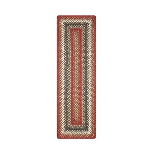 "Homespice Decor 11"" x 36"" Table Runner Rect. Chester Jute Braided Accessories"