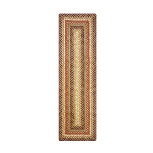 """Homespice Decor 11"""" x 36"""" Table Runner Rect. Gingerbread Jute Braided Accessories"""