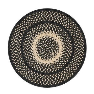 "Homespice Decor 15"" Trivet Round Manchester Jute Braided Accessories"