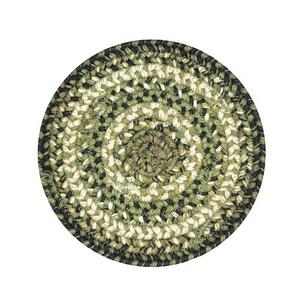 "Homespice Decor 8"" Trivet Round Pinecone Jute Braided Accessories"