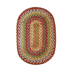 "Homespice Decor 13"" x 19"" Placemat Oval Azalea Jute Braided Accessories"