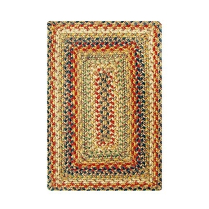 "Homespice Decor 13"" x 19"" Placemat Rect. Kingston Jute Braided Accessories"