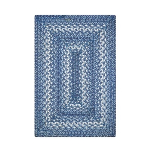 "Homespice Decor 13"" x 19"" Placemat Rect. Denim Jute Braided Accessories"