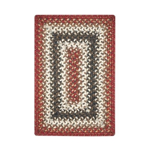 """Homespice Decor 13"""" x 19"""" Placemat Rect. Chester Jute Braided Accessories"""