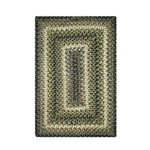 """Homespice Decor 13"""" x 19"""" Placemat Rect. Pinecone Jute Braided Accessories"""