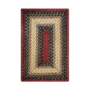 "Homespice Decor 13"" x 19"" Placemat Rect. Highland Jute Braided Accessories"