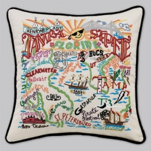 Tampa - St. Pete City Pillow