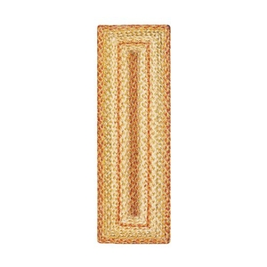 """Homespice Decor 8"""" x 28"""" Small Table Runner Rect. Harvest Jute Braided Accessories"""