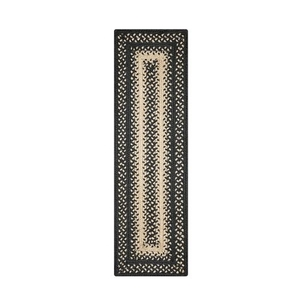 """Homespice Decor 8"""" x 28"""" Small Table Runner Rect. Manchester Jute Braided Accessories"""