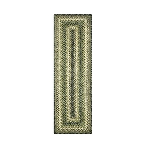 """Homespice Decor 8"""" x 28"""" Small Table Runner Rect. Pinecone Jute Braided Accessories"""