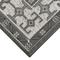 "Liora Manne Carmel Kilim Indoor/Outdoor Rug Grey 7'10"" SQ"