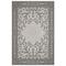 """Liora Manne Carmel Mosaic Indoor/Outdoor Rug Grey 39""""x59"""""""