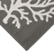 "Liora Manne Carmel Coral Indoor/Outdoor Rug Grey 23""x7'6"""